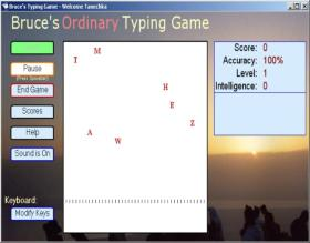 Bruces Unusual Typing Wizard Screen Shot 1