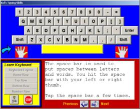 Kids Typing Skills Screen Shot 1