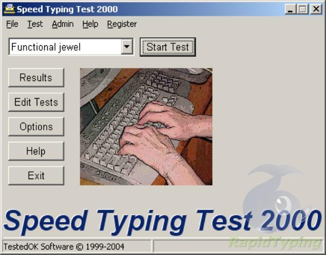 Online English typing test WPM - 5 Minute typing test
