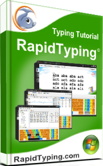 Typing Tutor, Typing Test and Typing games at rapidtyping com