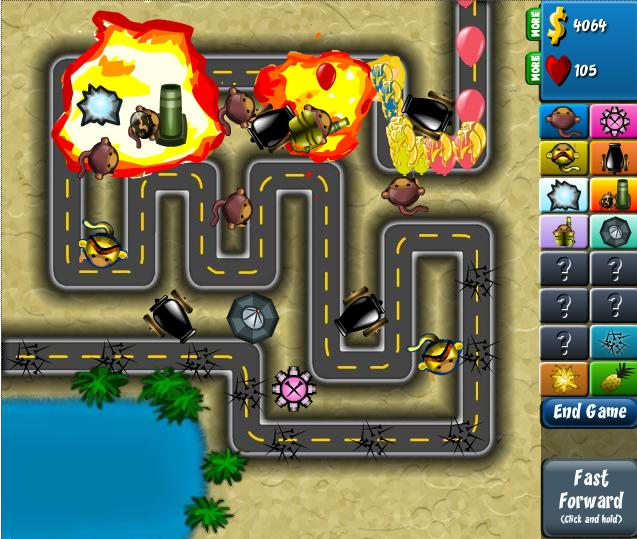 Bloons Tower Defense 4 | Starfall101