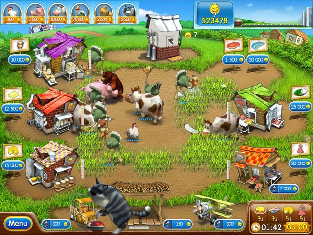 Online Games: Farm Frenzy 2