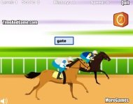 Typing Game 2: Horse Racing Typing