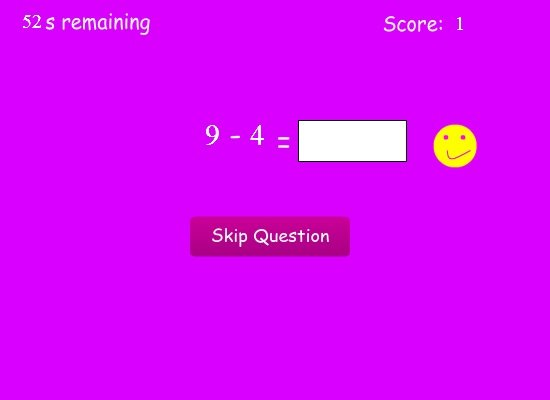 Printables Maths Question Simple Pics typing games simple math magic main screen shot
