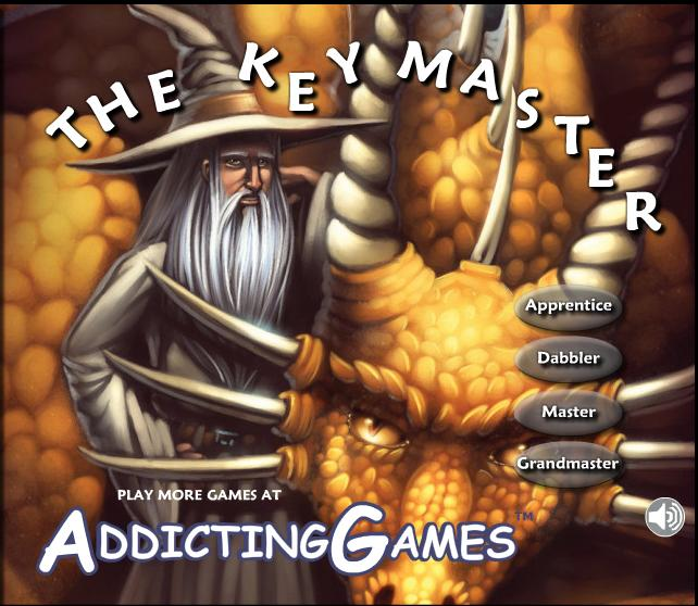 Typing Games: The Key Master