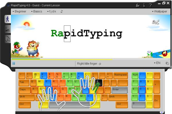 Portable RapidTyping screenshot
