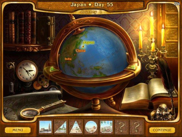Online Games: Around the World in 80 Days