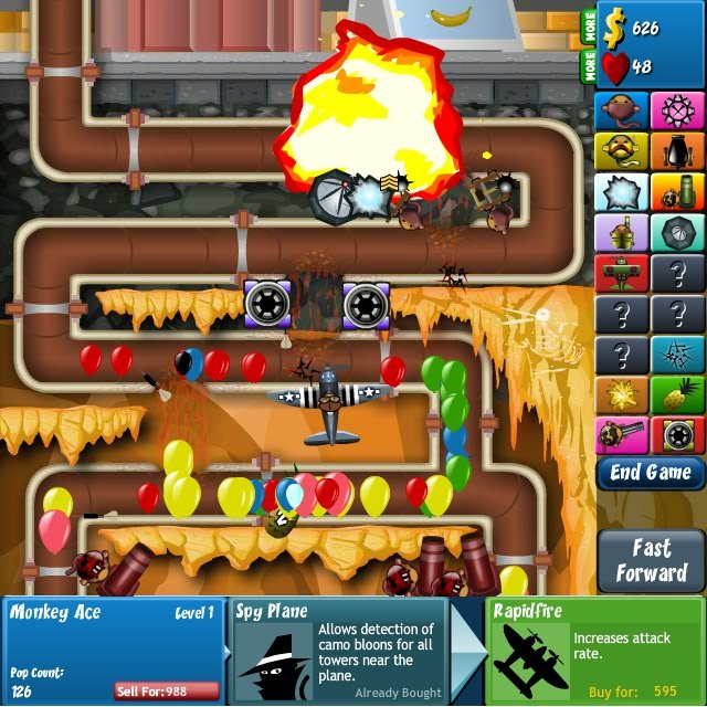 Bloons Tower Defenseunblocked Games