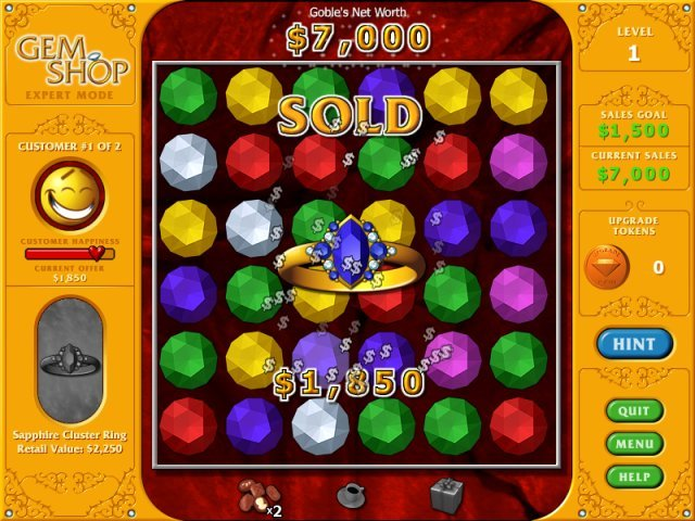 Gem Shop Game Online