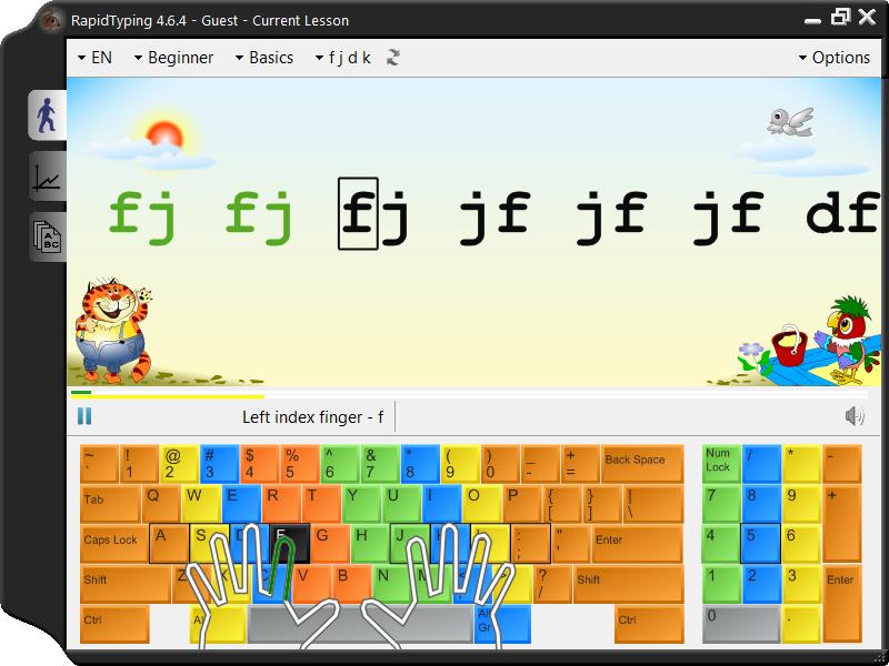 5 আপনার Typing দক্ষতা বাড়াতে চান এদিকে আসুন RapidTyping Master (Release Date 01 December 2012)